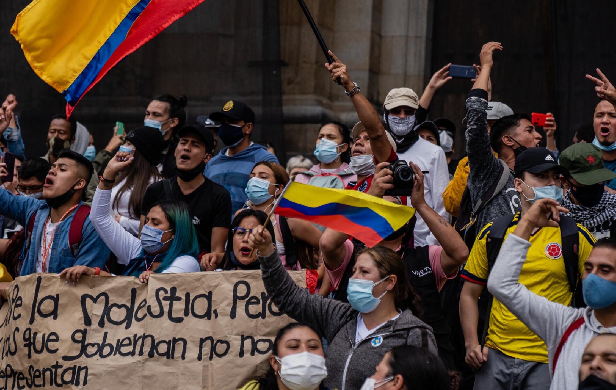 Colombia en crisis pide ayuda internacional