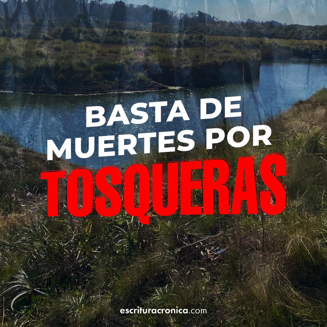 """Lanzamos la campaña """"No más muertes por tosqueras"""""""