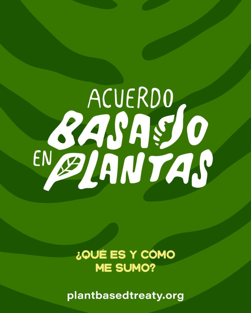 acuerdo basado en plantas