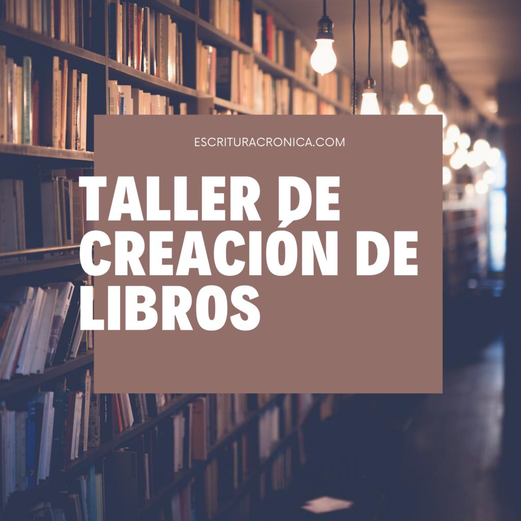 taller de creación de libros
