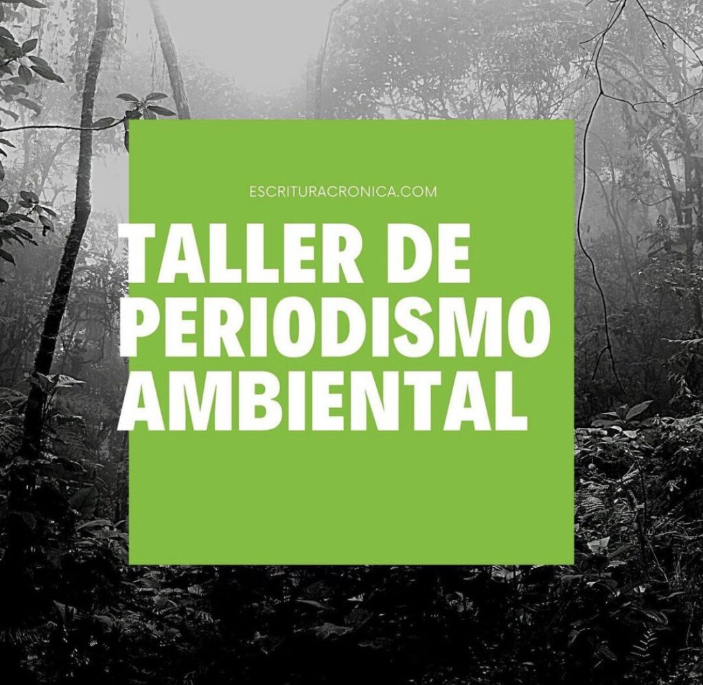 Taller de periodismo ambiental