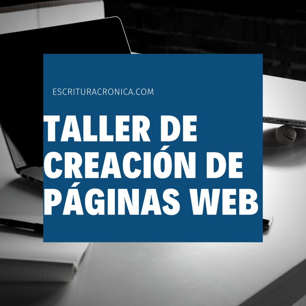 taller de creacion de paginas web
