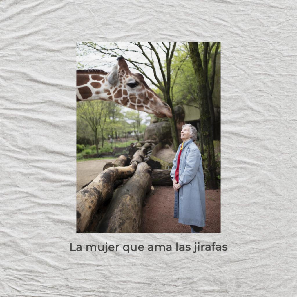 la mujer que ama las jirafas