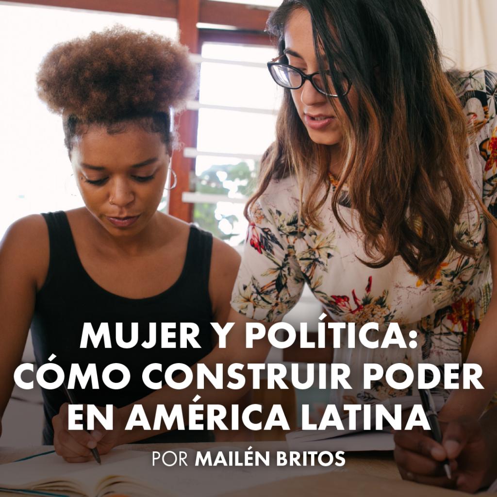 mujer y politica en latinoamerica