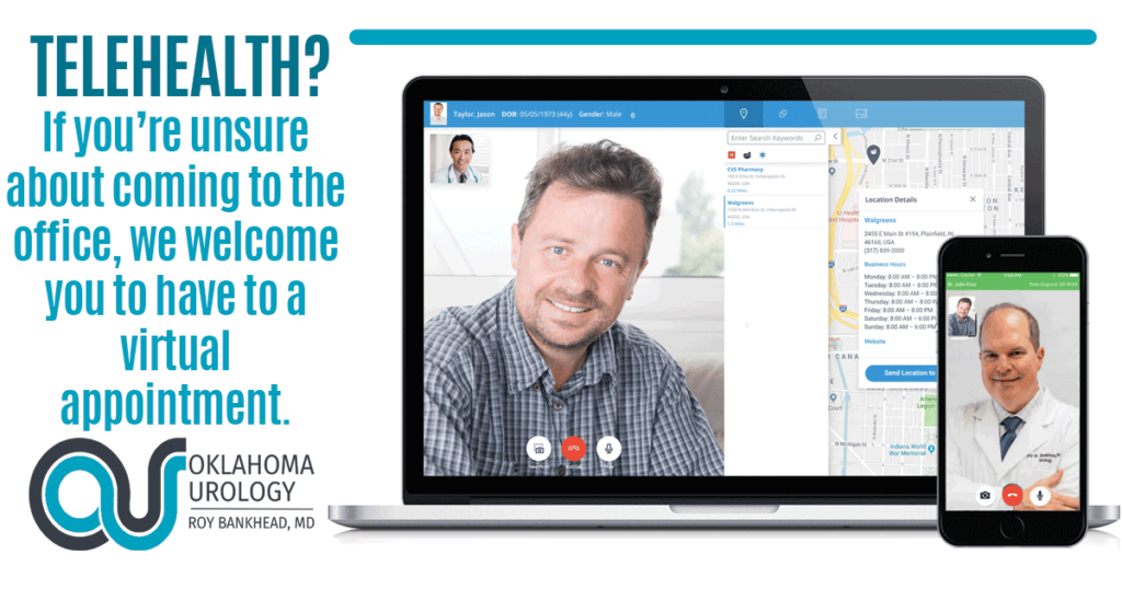 Urology Telemed with Dr. Roy Bankhead at Oklahoma Urology