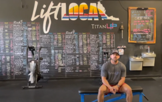 titanup fitness owner and personal trainer, Andrew.