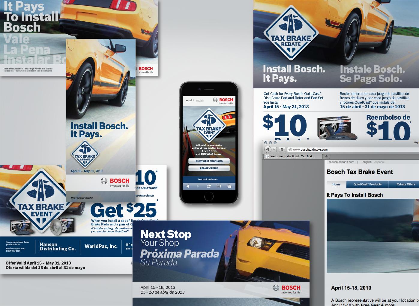 TGS Bosch Tax Brake Campaign