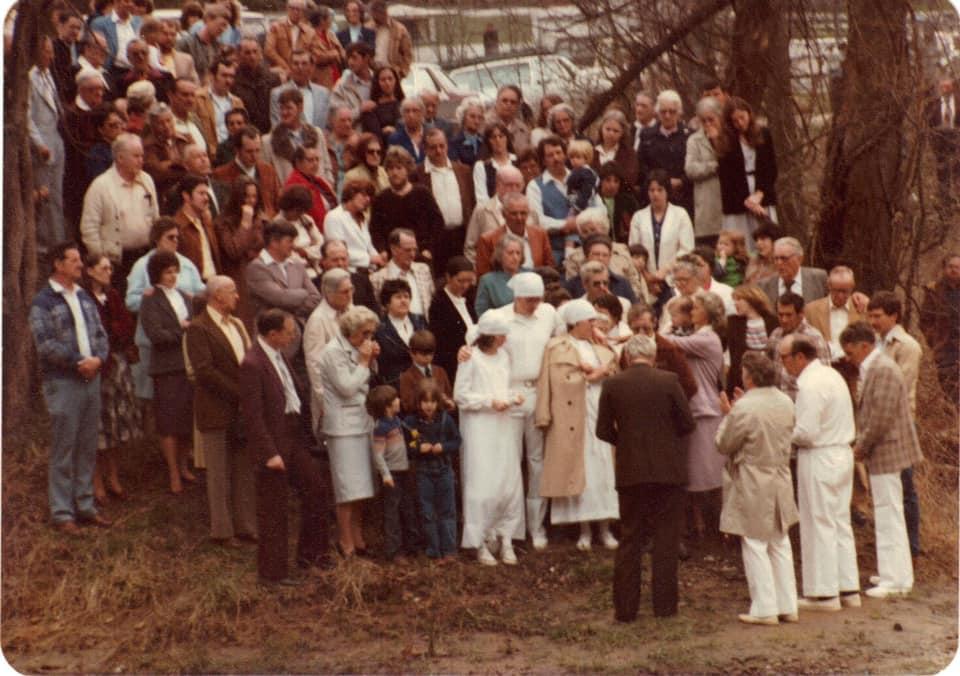 80's Baptism