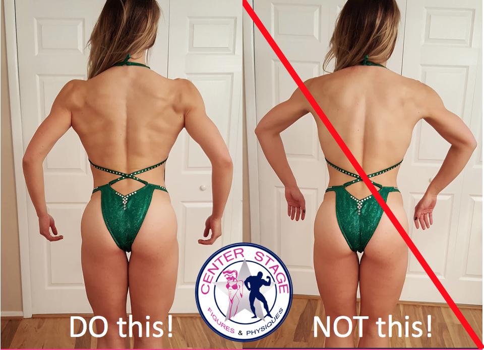 Figure rear pose