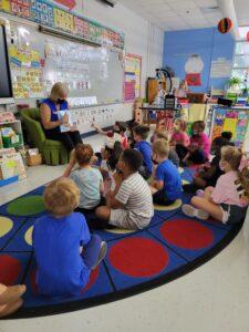 Team Ginger Harper sponsored Southport Elementary