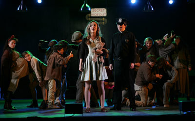 """Urinetown is a hit!"" – Mary Scott, Peninsula News"