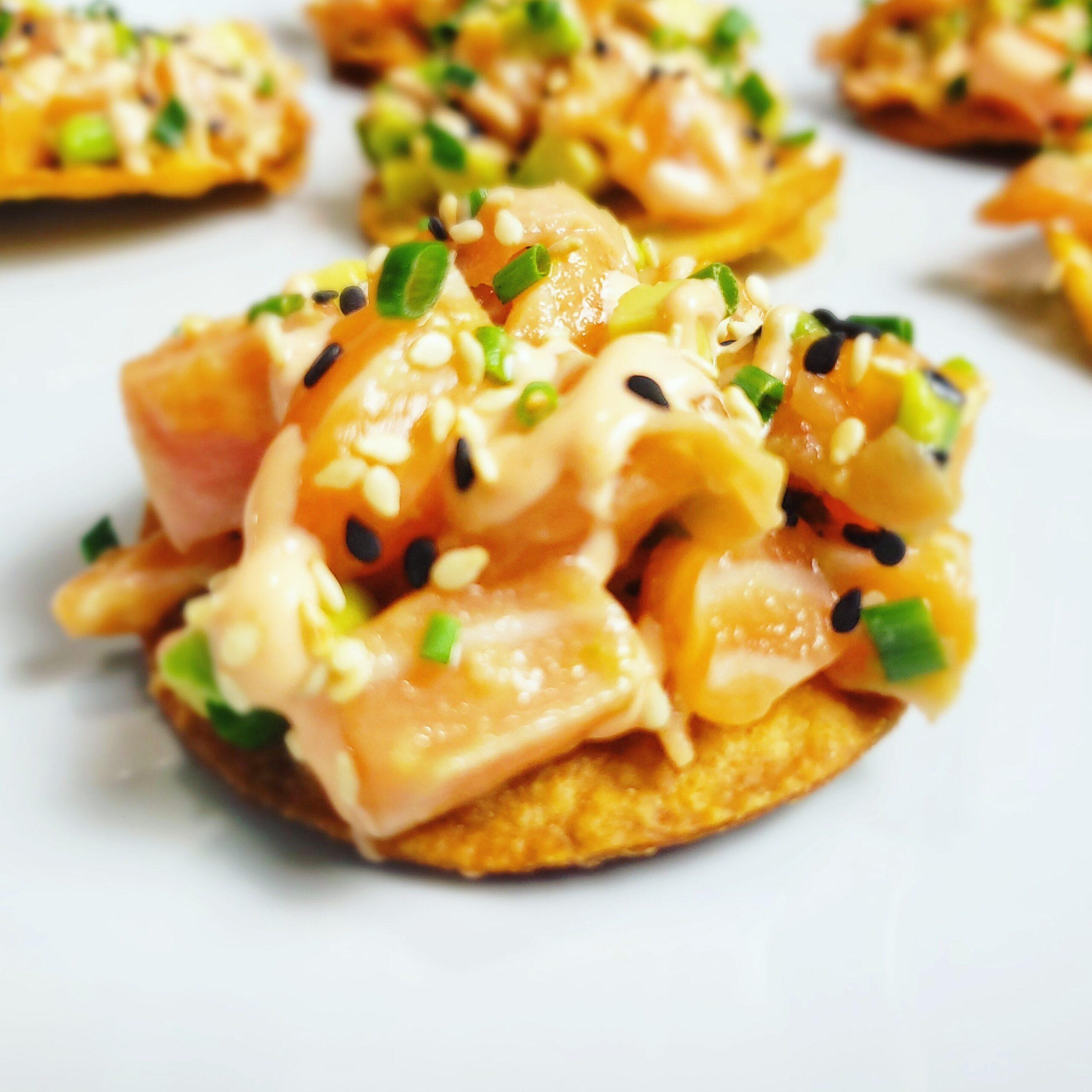 Personal Chef Secrets: Salmon Belly Poke Bites