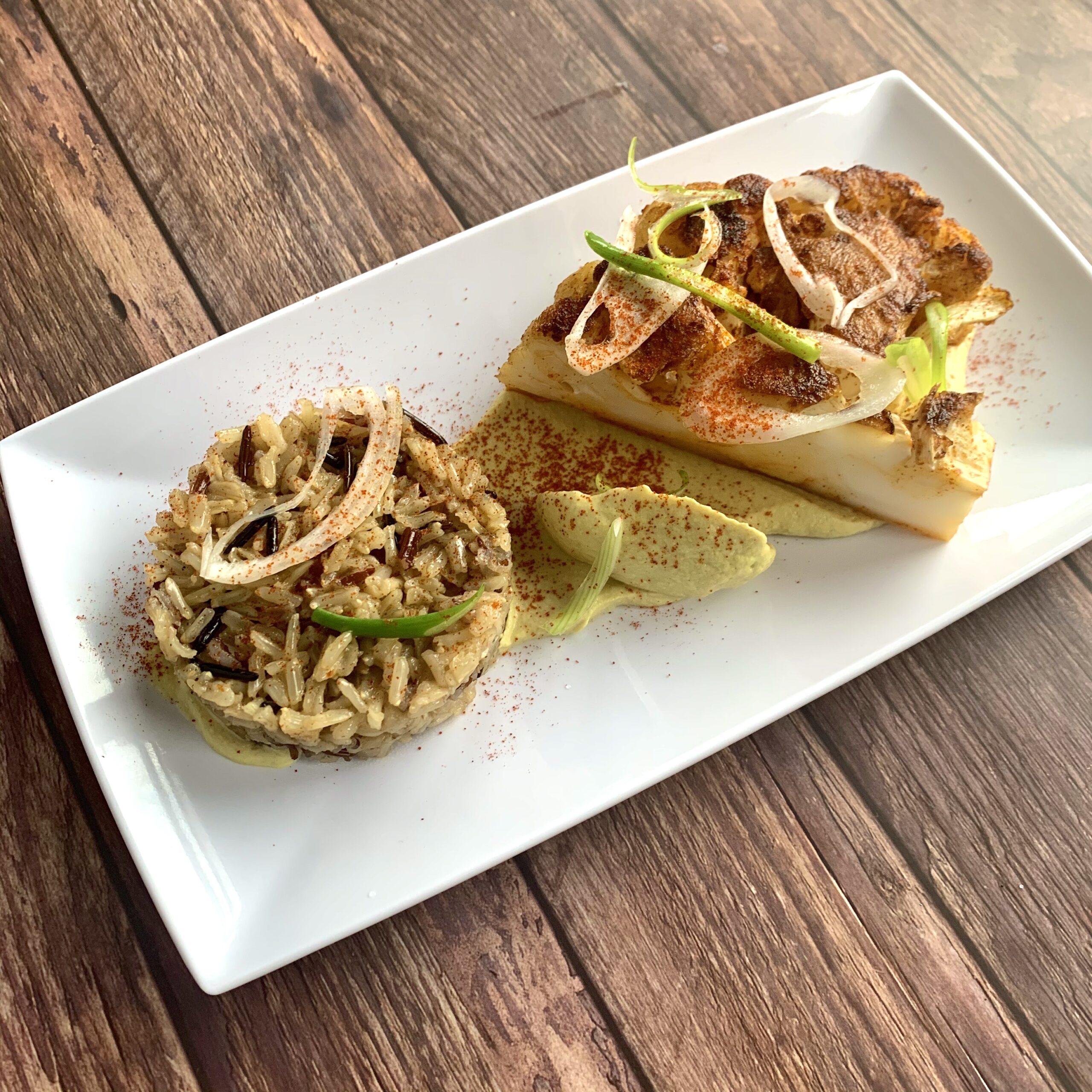 Personal Chef Collaboration: Spice House Cauliflower Steak