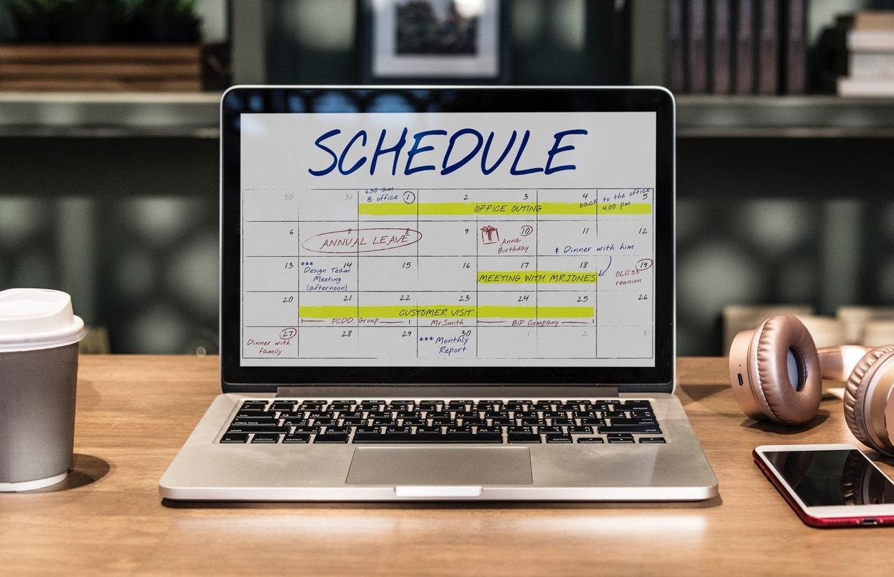 electronic calendar
