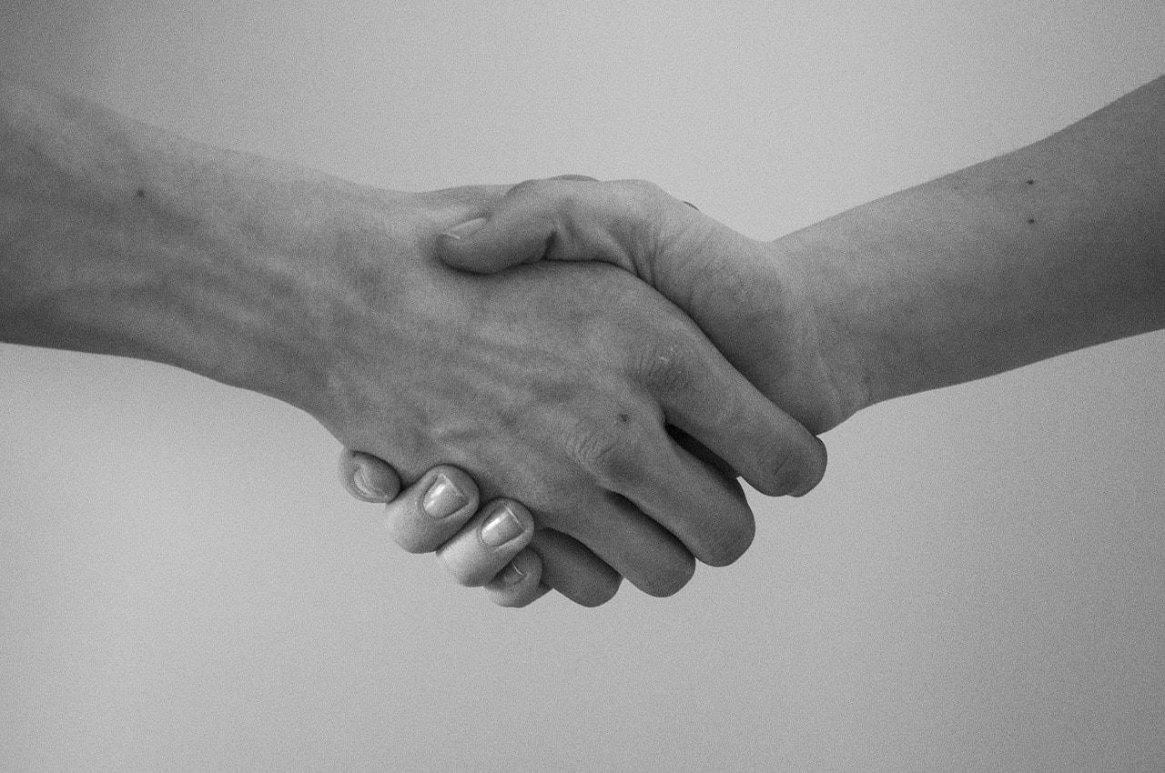 Shake hands - Agreement