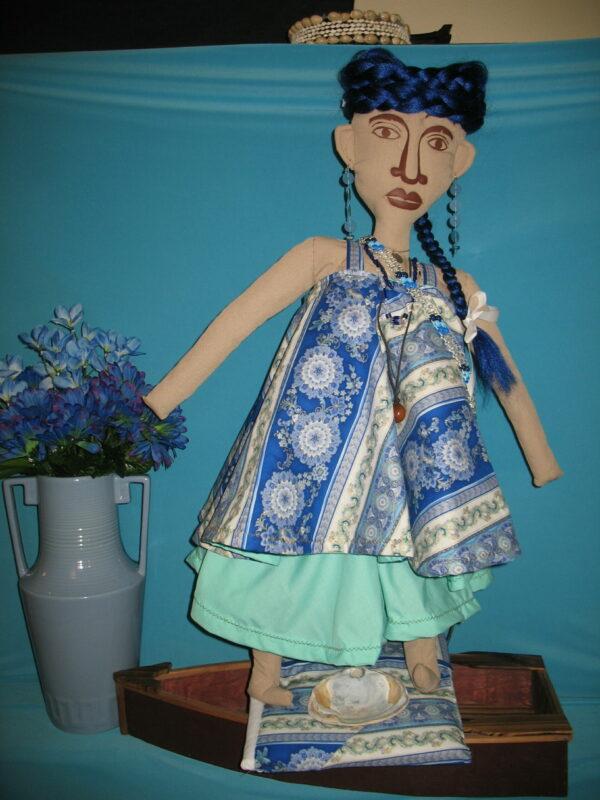 Yemaya Cloth Icon Doll