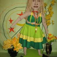 Oshun Cloth Icon Doll