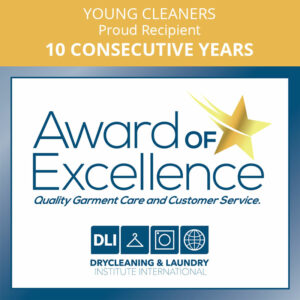 award of excellence recipient 10 consecutive years