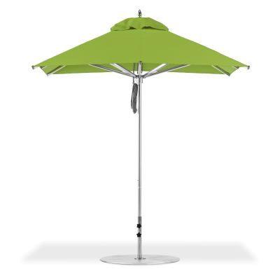 Picture of light green umbrella