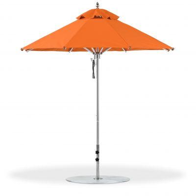Picture of orange umbrella