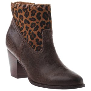 Brown Ankle High Boot