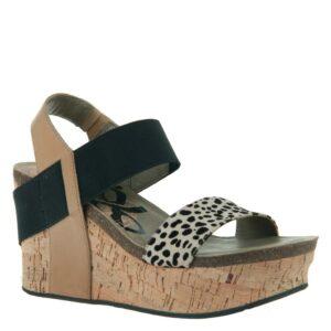 OTBT Bushnell wedge sandal desert