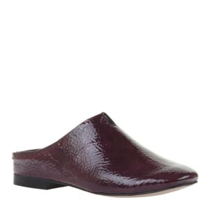 Fondo Naked Feet Slip-On Mule Eggplant