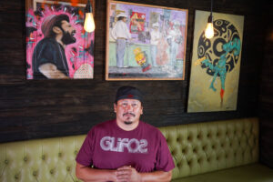 arts, navia alejandro, artist, painter, local artist, chicano artist