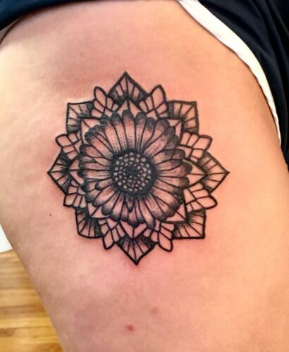 Stipple tattoos 006