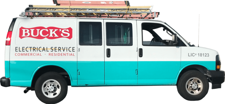 Bucks Electrical Service truck