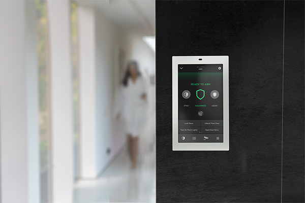 Touch panel_Hallway_Security