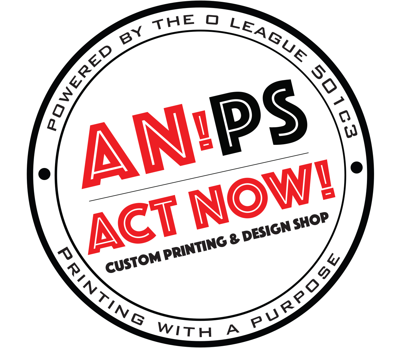 ACT NOW! Print Shop