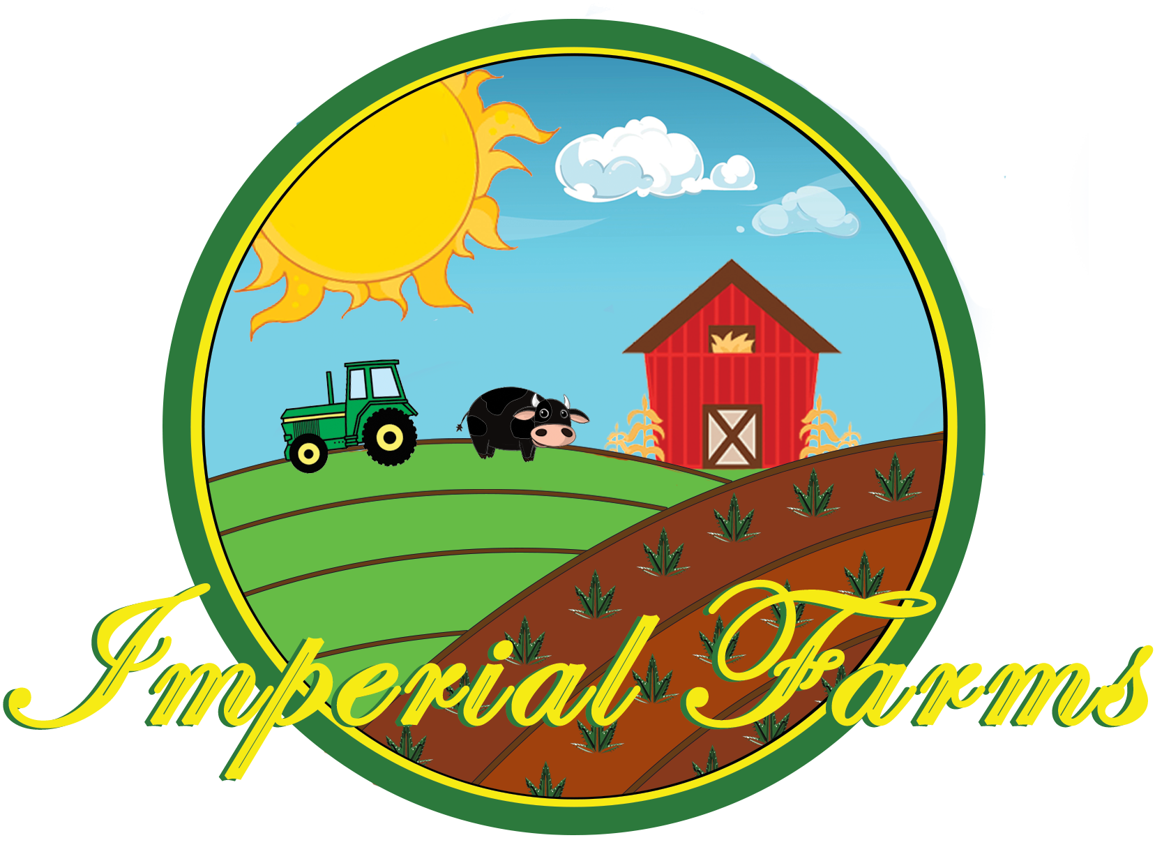 Logo for imperial farms