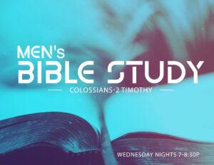 REV - Mens Bible Study @ Grace Revolution Church