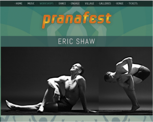 PranaFest Eric Shaw Feature Page