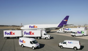 FedEx with everything they've got