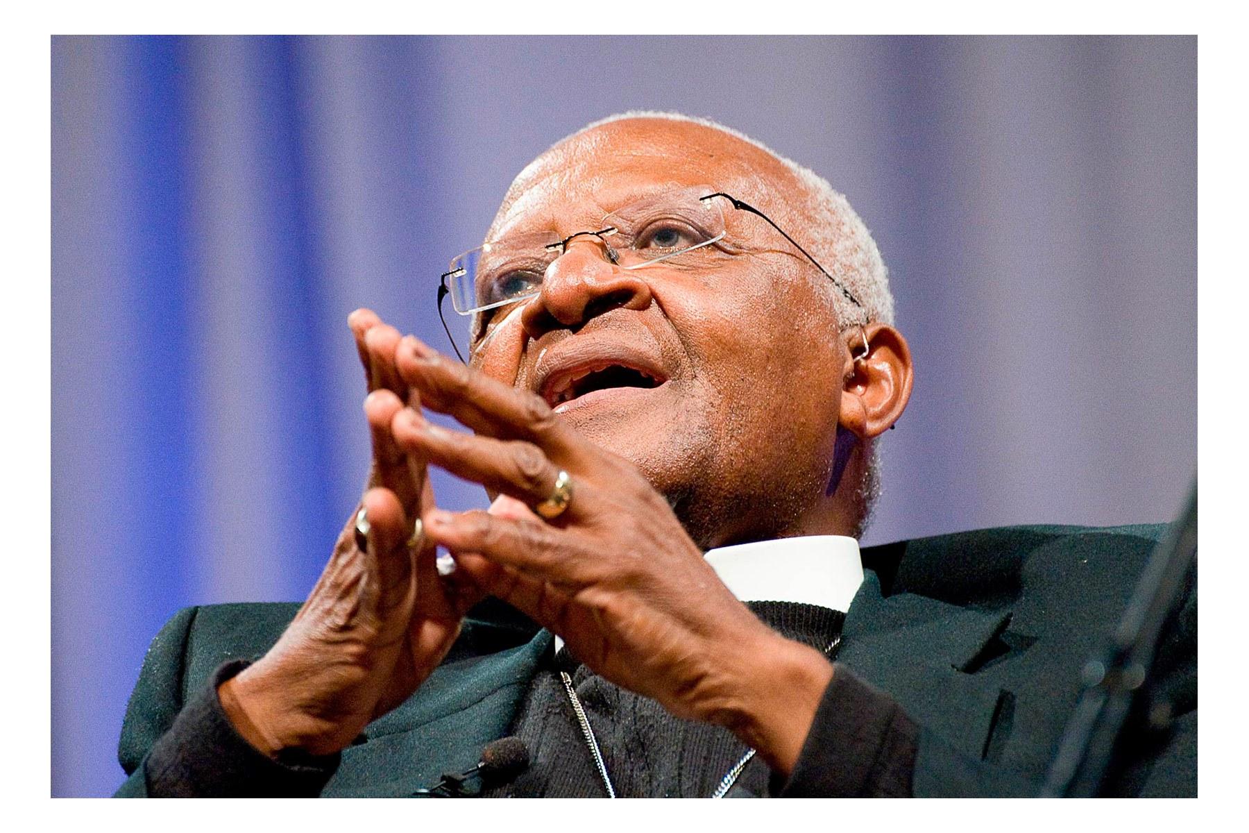 Archbishop Desmond Tutu, University of Portland, 05-05-2009