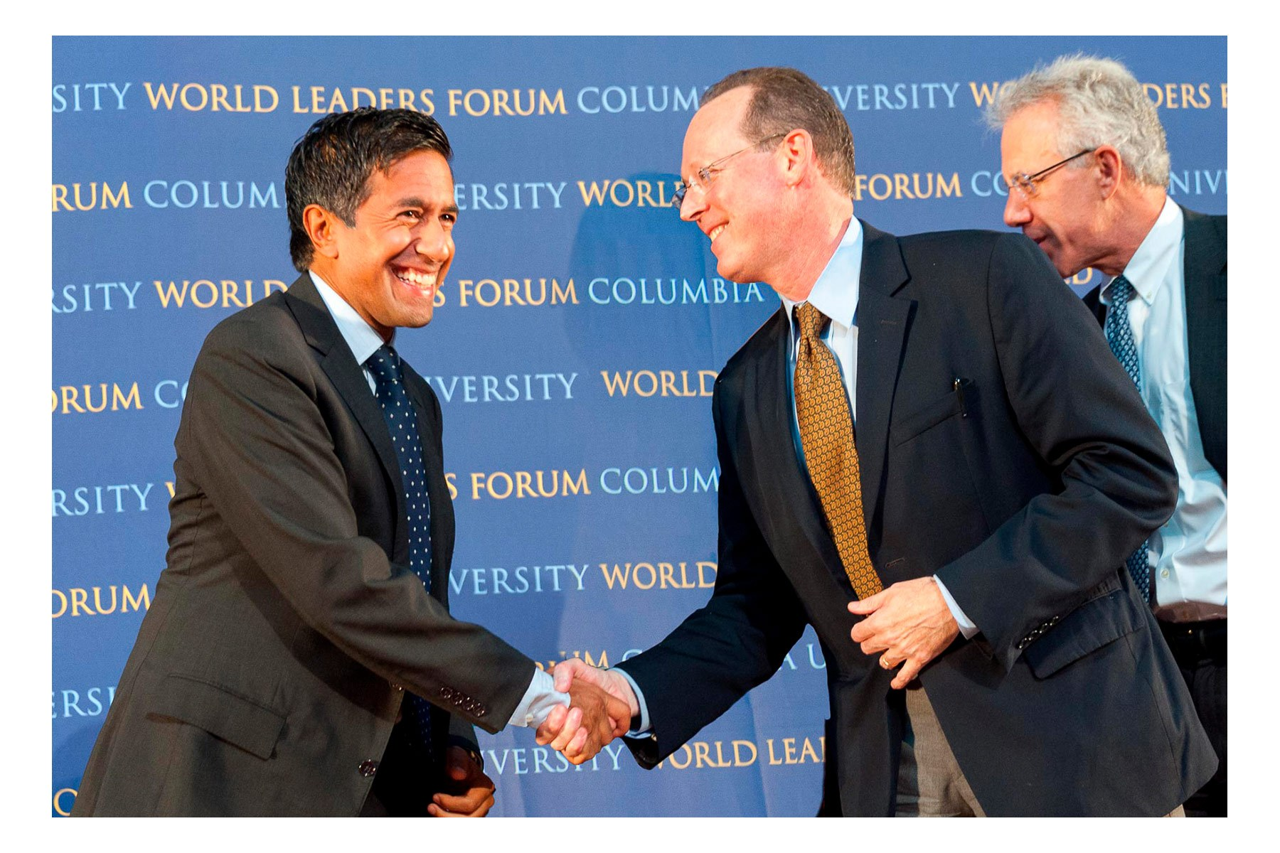 World Leaders Forum -  Delivering Hope:  Preventing and Treating Noncommunicable Diseases in Developing Countries;  Lance Armstrong, Dr. Wafaa El-Sadr, Dr. Paul Farmer, Dr. Sanjay Gupta, and Dr. Lawrence Shulman, Columbia University, NY, 09-19-2011