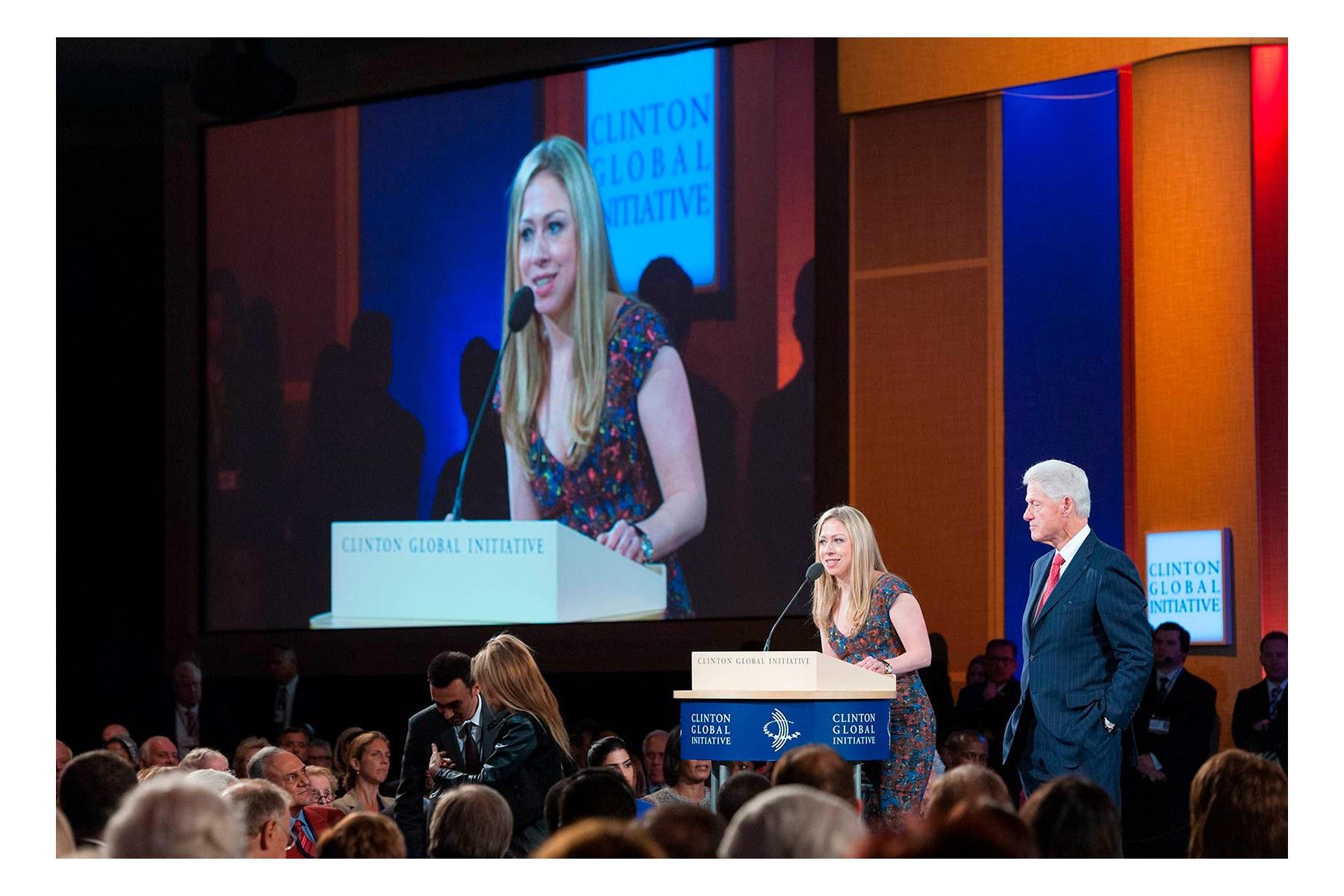 Chelsea Clinton, Closing Plenary, Clinton Global Initiative, CGI 2012 meetings, Designing for Impact, New York, September 2012