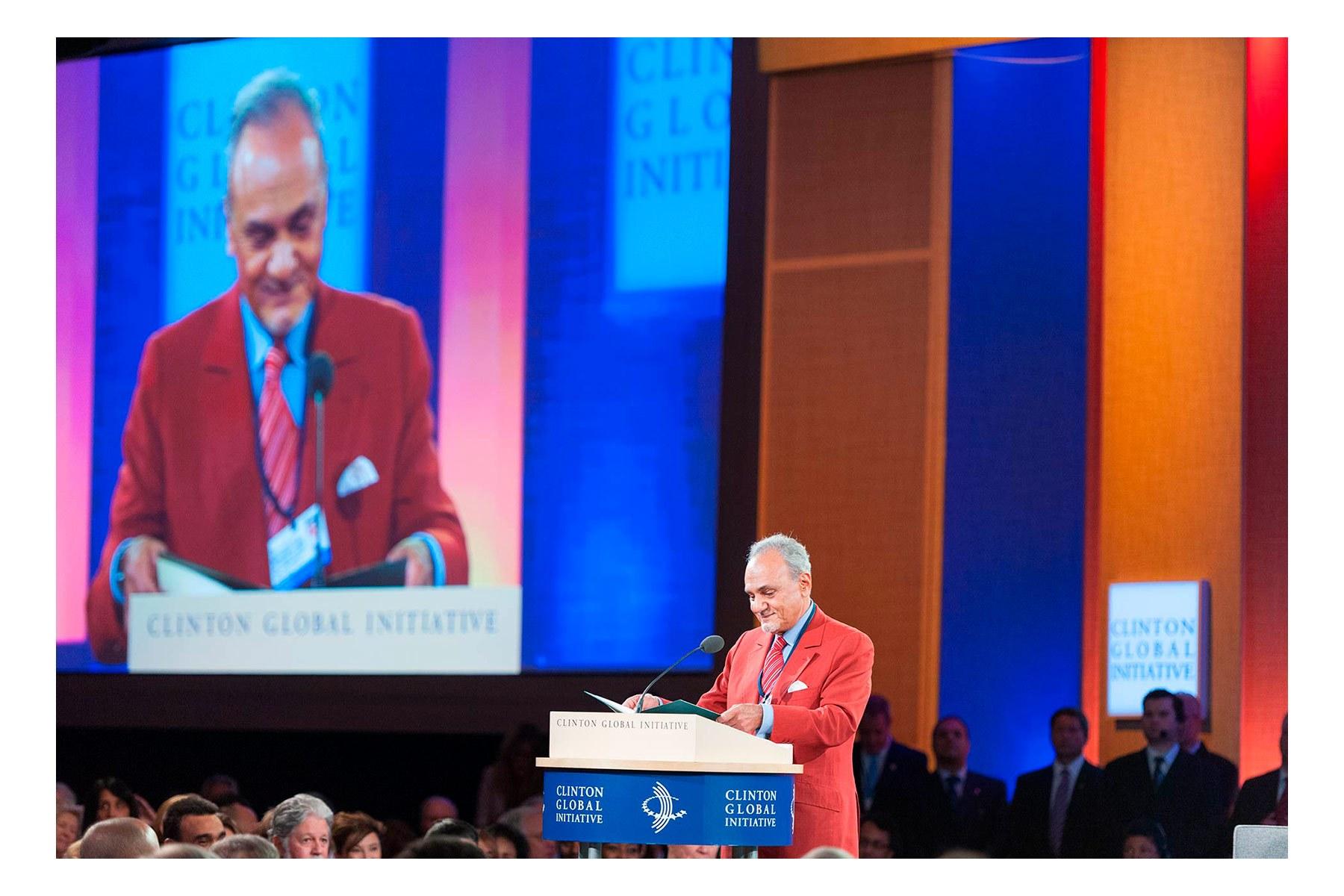 Prince Turki Al Faisal, Saud Saudi Arabia, Closing Plenary, Clinton Global Initiative, CGI 2012 meetings, Designing for Impact, New York, September 2012