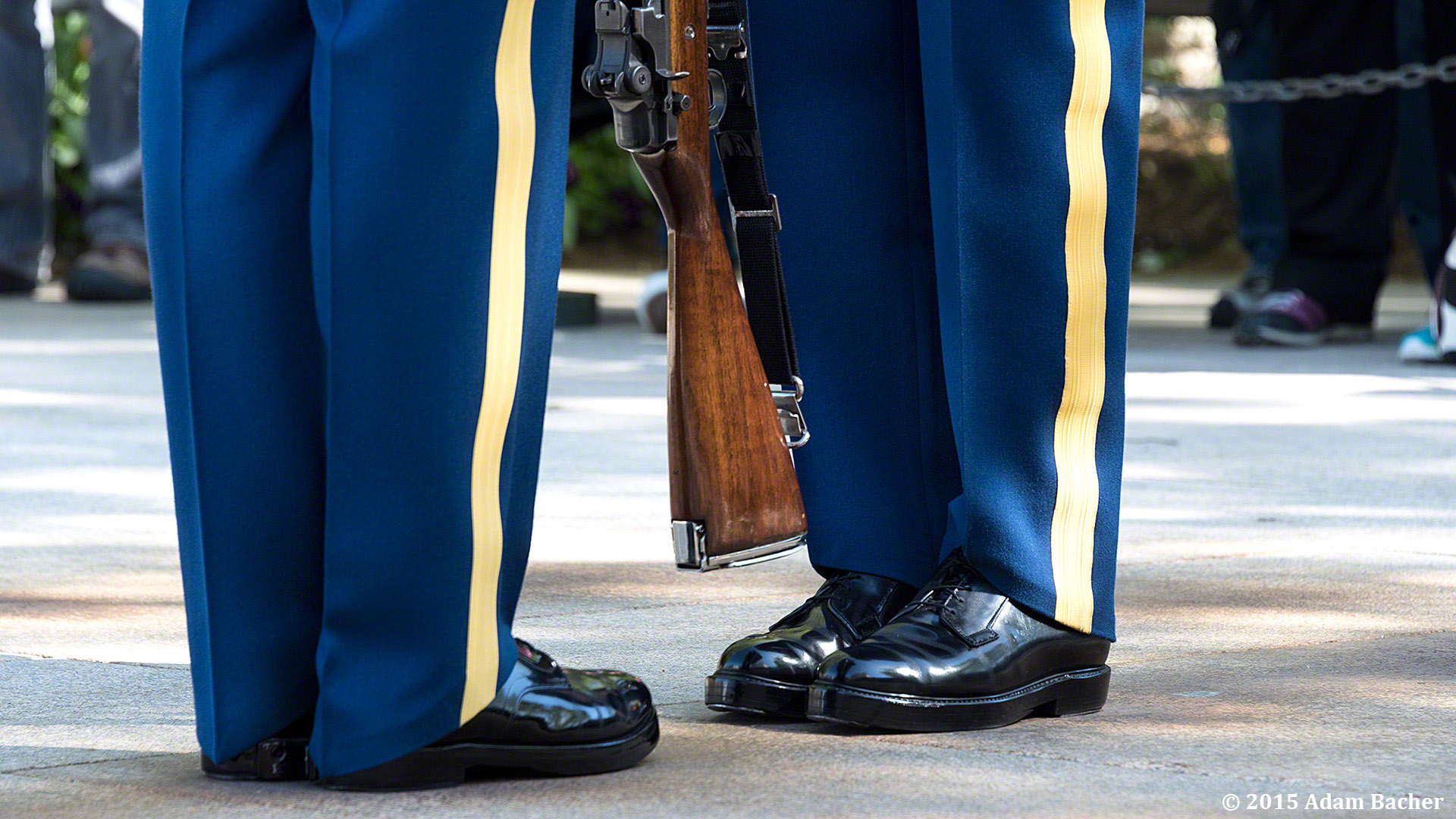 Portland Oregon photographers at Tomb of Unknowns in Arlington National Cemetery