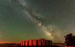 Milky Way and Stonehenge Memorial