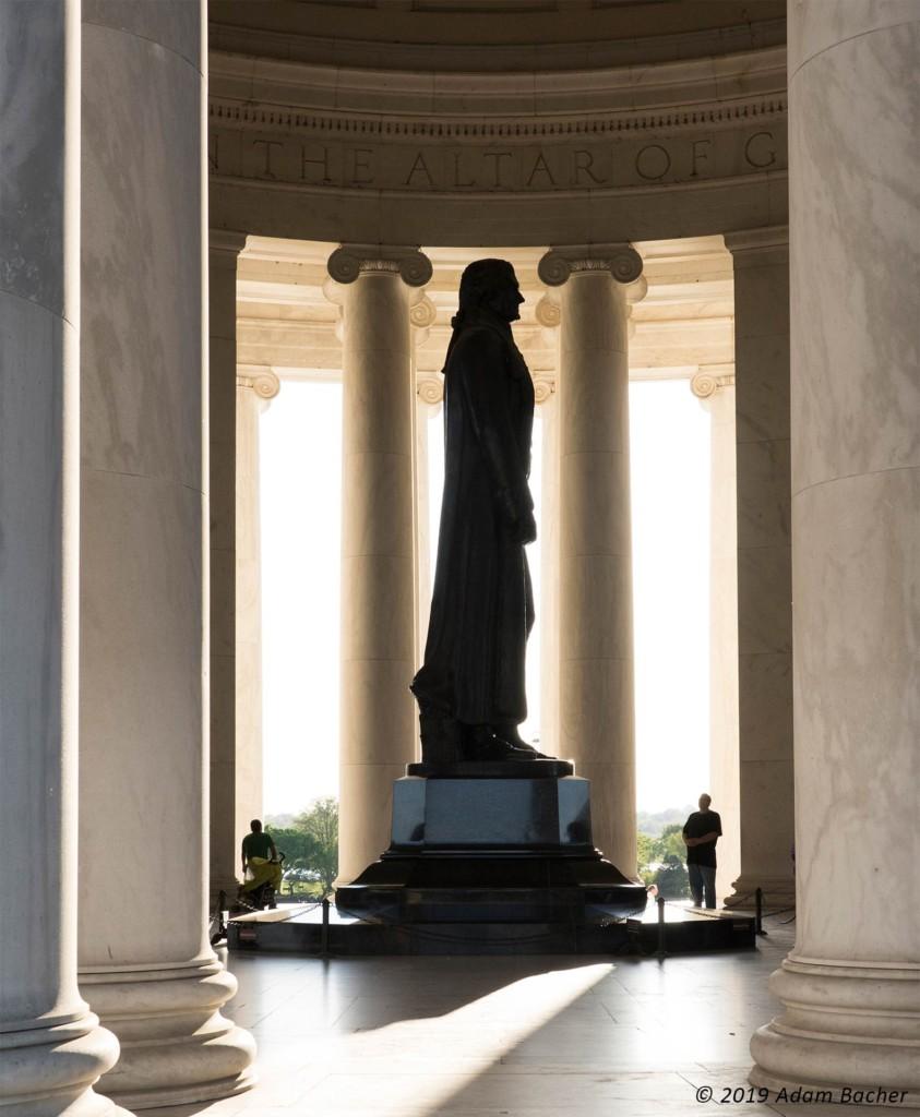 jefferson memorial, washington dc, travel photography