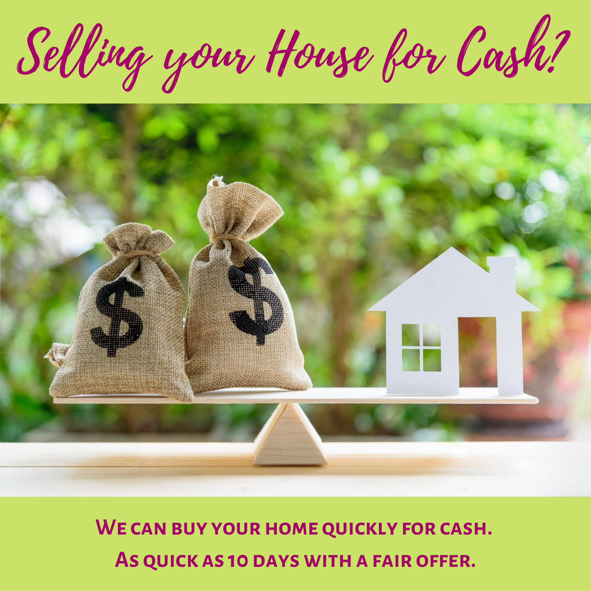 Selling your House for Cash? Learn the Opportunities and Challenges