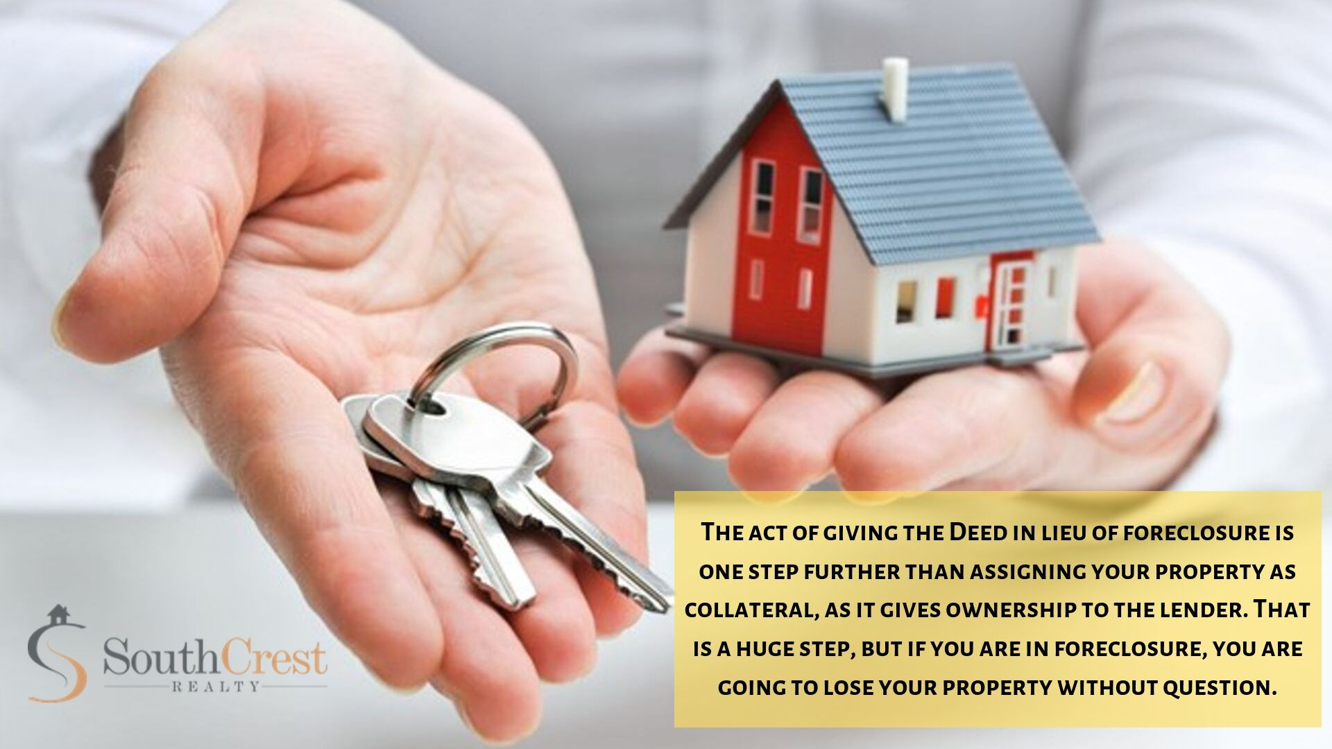 How a Deed in Lieu of Foreclosure Can Help Save Your House (and Your Credit)