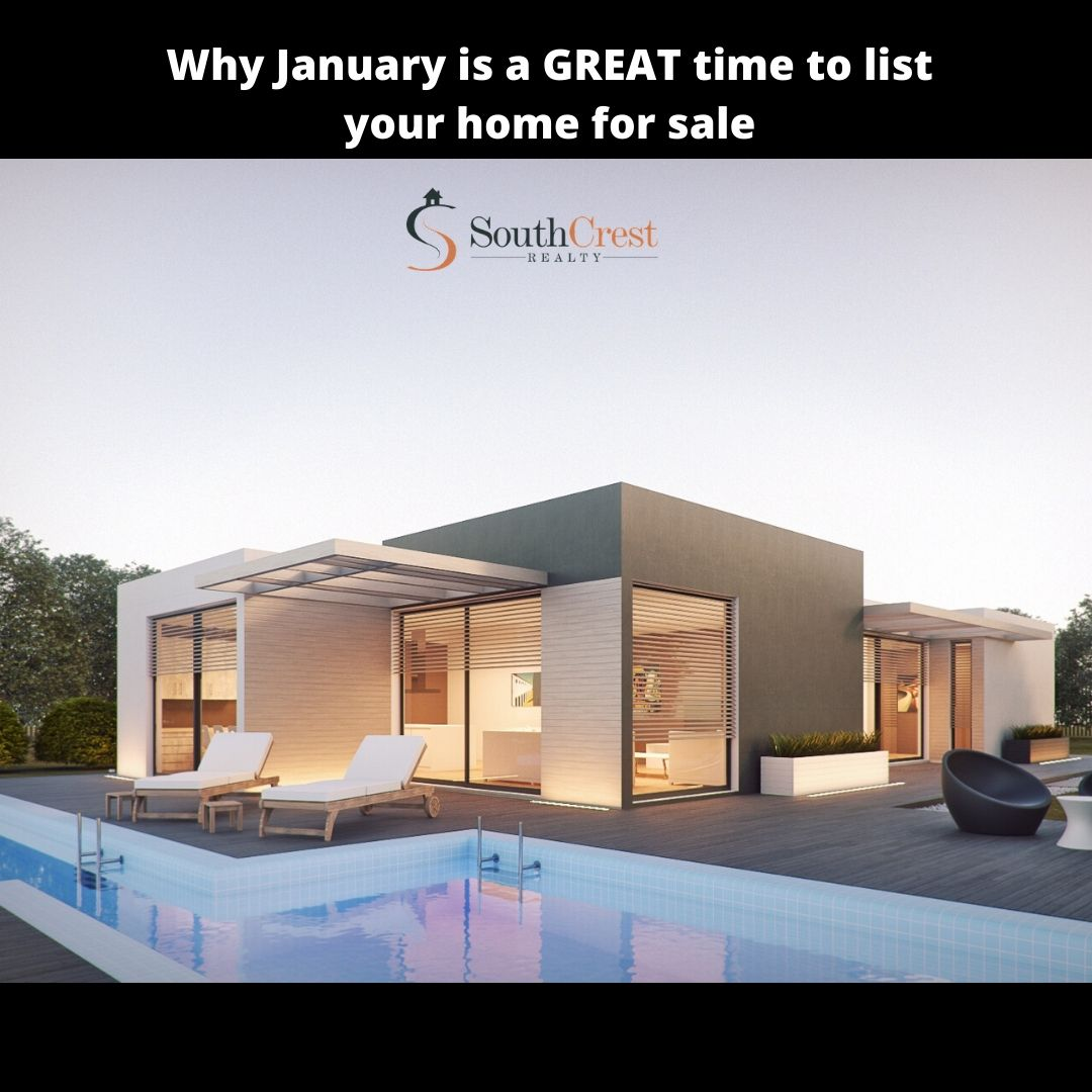 Why January is a GREAT time to list your home for sale