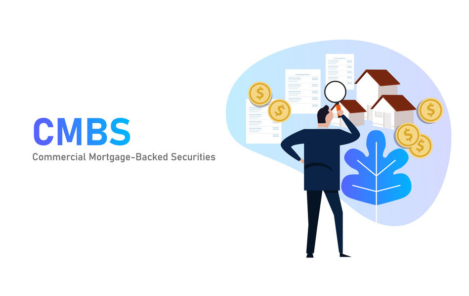 Commercial mortgage-backed securities CMBS are a type of mortgage-backed security backed by commercial mortgages rather than residential real estate vector