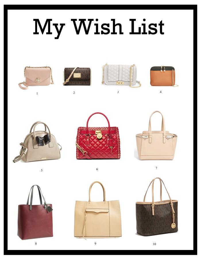 Handbag Wishlist