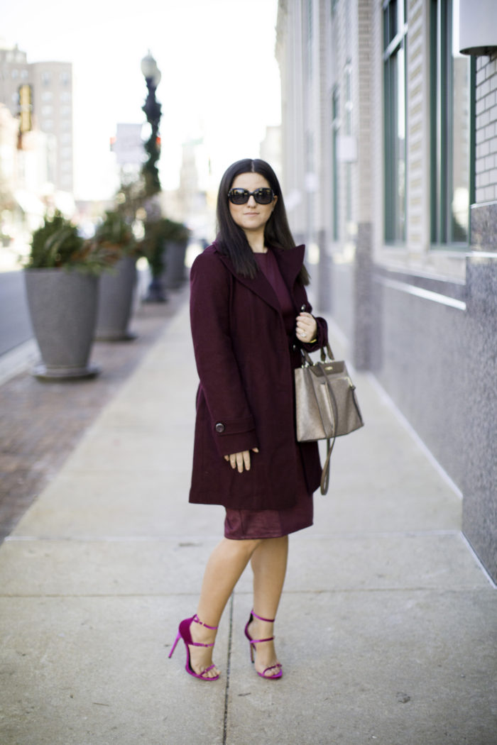 2017 favorite fashion trend, monochrome outfit idea, ami clubwear heels