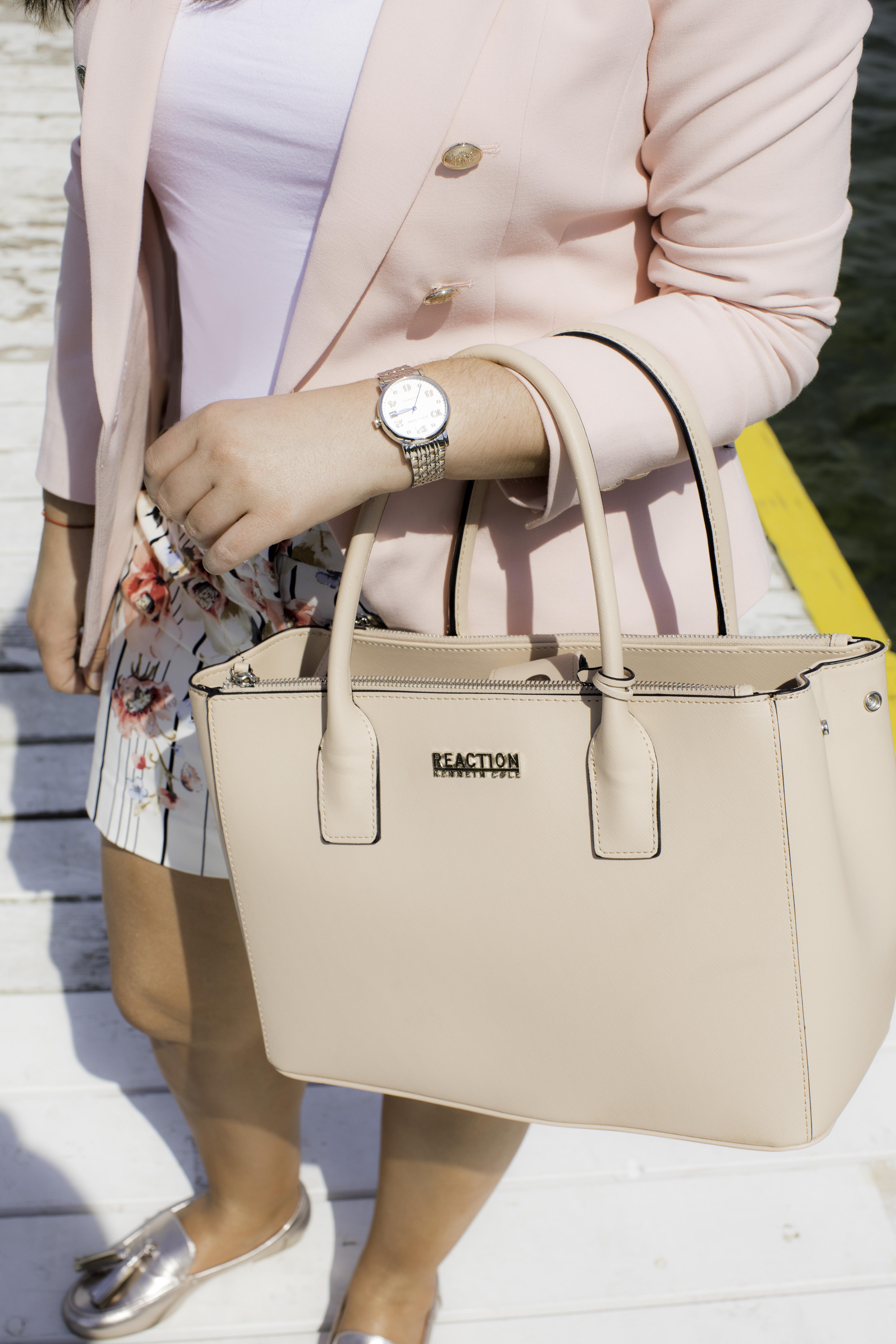 grayton watch, luxury watch, designer watches, white house black market boating outfit, pink blazer,